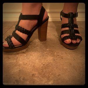 Sandal block heel